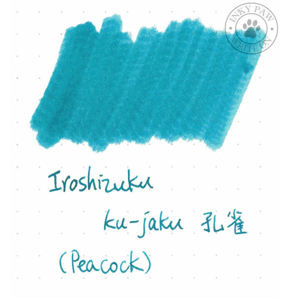 Iroshizuku 5Ml Sample Tube - Ku-Jaku (Peacock) Inks