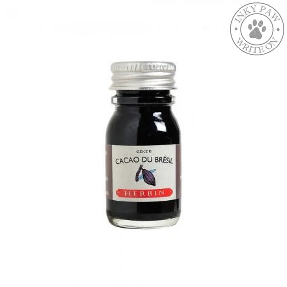 J. Herbin 10Ml Ink Bottle - Cacao Du Bresil (Brazillian Brown Cocoa) Fountain Pen Ink