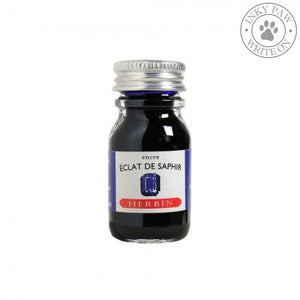 J. Herbin 10Ml Ink Bottle - Eclat De Saphir (Sapphire Blue) Fountain Pen Ink