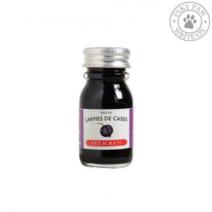 J. Herbin 10Ml Ink Bottle - Larmes De Cassis (Tears Of Blackcurrant) Fountain Pen Ink