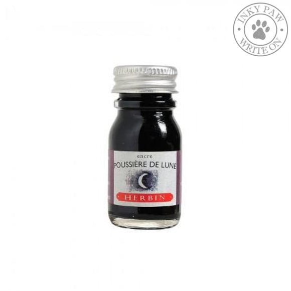 J. Herbin 10Ml Ink Bottle - Poussiere De Lune (Moondust Purple) Fountain Pen Ink