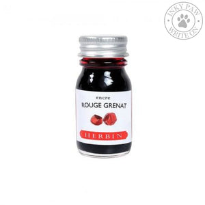 J. Herbin 10Ml Ink Bottle - Rouge Grenat Inks