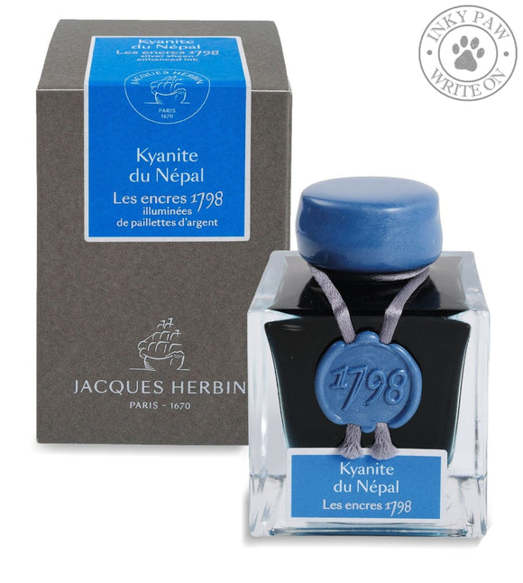 J. Herbin 1798 Collection 50 Ml Ink Bottle - Kyanite Du Nepal