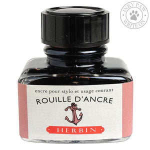 J. Herbin 30Ml Ink Bottle - Rouille Dancre (Rusty Anchor Red) Inks