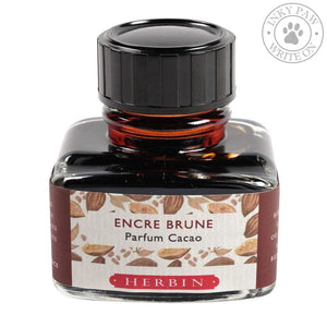 J. Herbin 30Ml Scented Ink - Brown Cocoa Inks