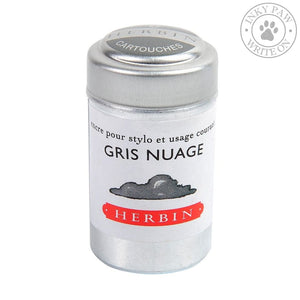 J. Herbin Ink Cartridges - Gris Nuage (Cloud Gray) Inks