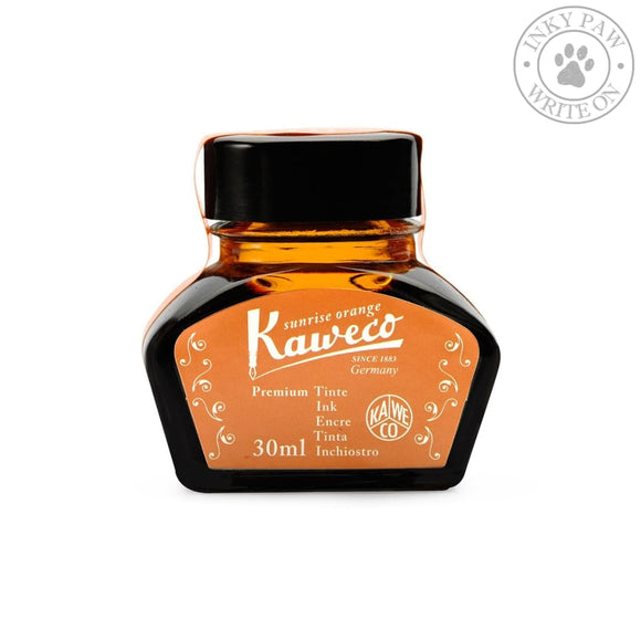 Kaweco 30Ml Bottled Ink - Sunrise Orange Inks