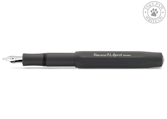 Kaweco Al Sport Fountain Pen - Black Barrel