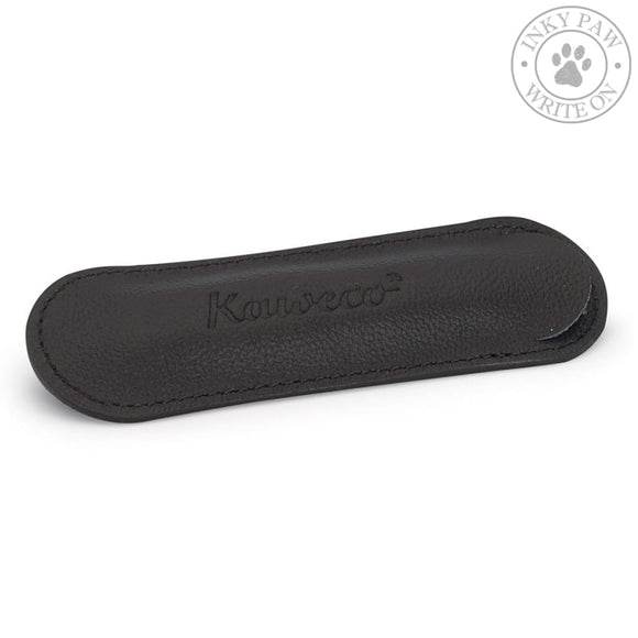 Kaweco Eco Leather Pouch Black For 1 Sport Pen Accessories