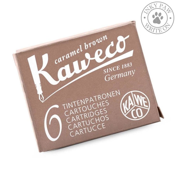 Kaweco Fountain Pen Ink Cartridges - Caramel Brown