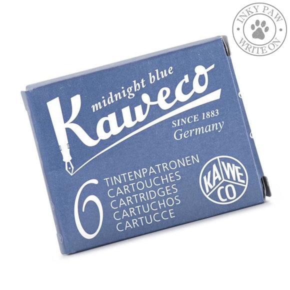 Kaweco Fountain Pen Ink Cartridges - Midnight Blue