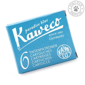 Kaweco Fountain Pen Ink Cartridges - Paradise Blue