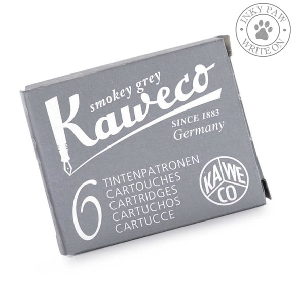 Kaweco Fountain Pen Ink Cartridges - Smokey Grey