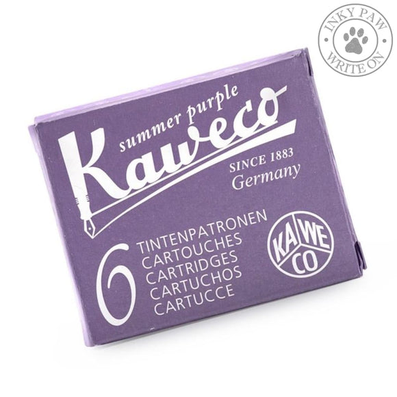Kaweco Fountain Pen Ink Cartridges - Summer Purple
