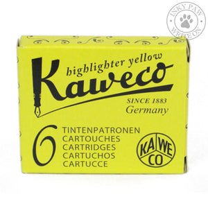 Kaweco Highlighter Ink Cartridges - Yellow Inks