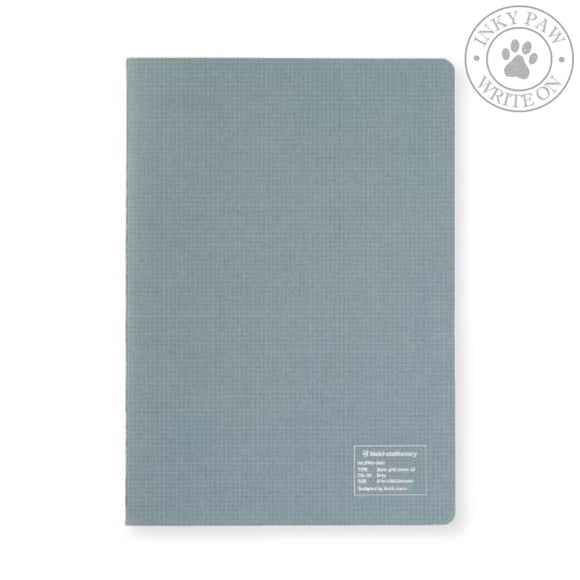 Kleid A5 2Mm Grid Notebook - Gray White Paper