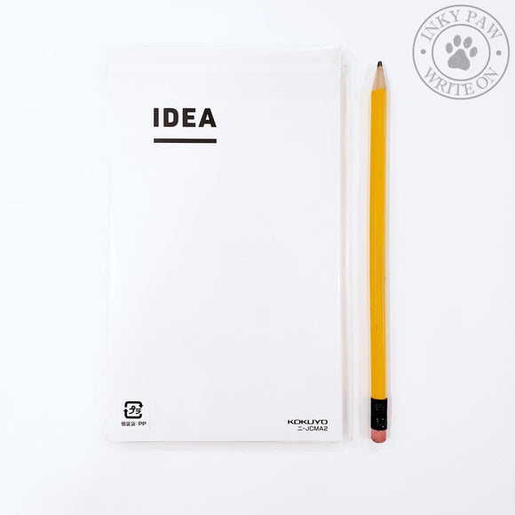 Kokuyo Jibun-Techo Idea Grid Notebooks - B6 Slim (Set Of 2) Paper