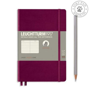 Leuchtturm1917 B5 Softcover Composition Notebook - Port Red Ruled