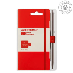 Leuchtturm1917 Bauhaus 100 Pen Loop - Red