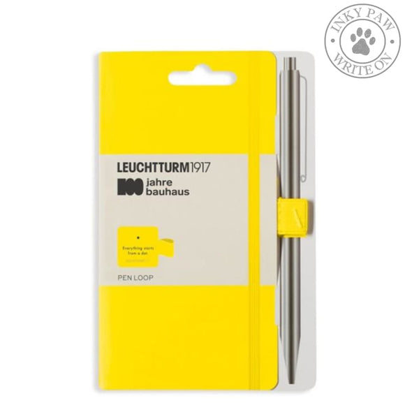 Leuchtturm1917 Bauhaus 100 Pen Loop - Yellow