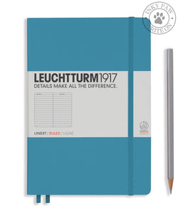 Leuchtturm1917 Medium (A5) Hardcover Journal Nordic Blue Ruled