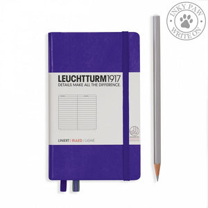 Leuchtturm1917 Pocket (A6) Hardcover Notebook Purple Ruled