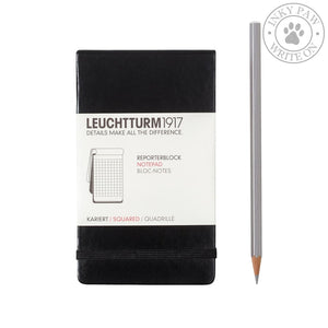 Leuchtturm1917 Reporter Notepad Pocket (A6) - Black Paper