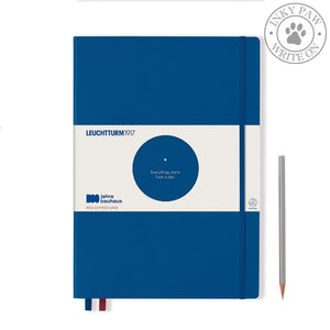 Leuchtturm1917 Special Edition 100 Years Bauhaus Master Classic A4+ Royal Blue