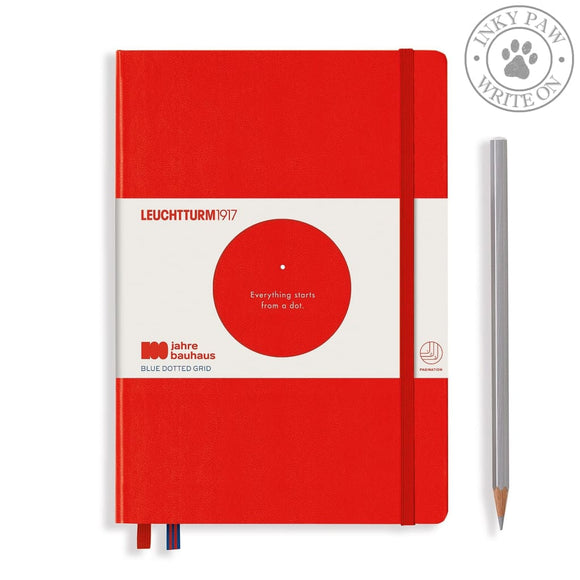 Leuchtturm1917 Special Edition 100 Years Bauhaus Medium (A5) Journal Red