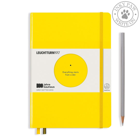 Leuchtturm1917 Special Edition 100 Years Bauhaus Medium (A5) Journal Yellow