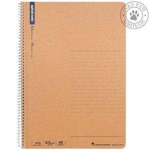 Maruman B5 Basic Spiral Notebook (N236) 6.5 Mm Lined Paper