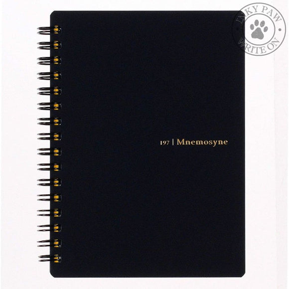Maruman Mnemosyne A6 Todays Act Sprial Notebook (N197A) Paper