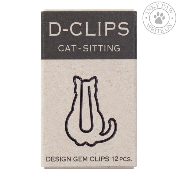 Midori D-Clips Mini Box - Sitting Cat Accessories