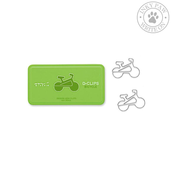 Midori D-Clips Paper Clips - Bicycle Accessories