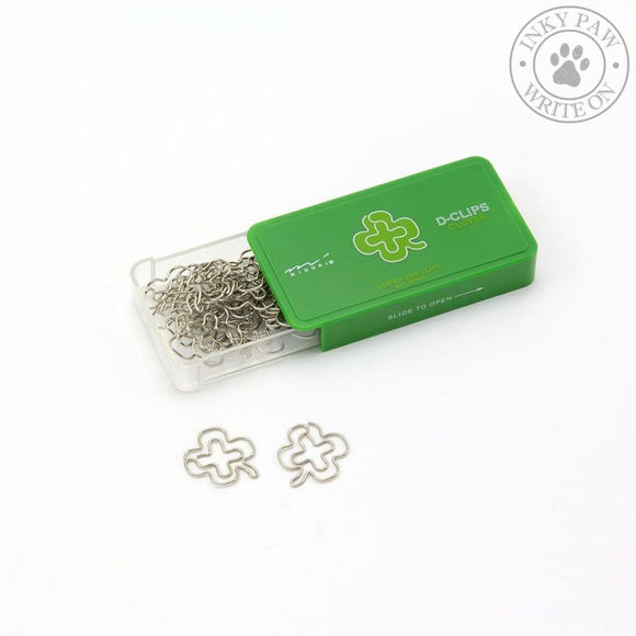 Midori D-Clips Paper Clips - Clover Accessories