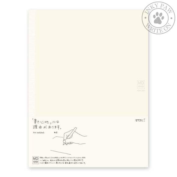 Midori Md Notebook A4 - Blank Paper