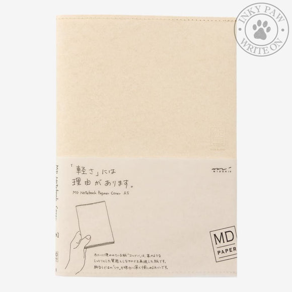 Midori Paper Cover For Md Notebook - A5