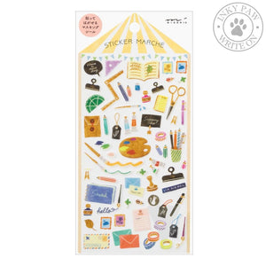 Midori Sticker Marche - Stationery Accessories