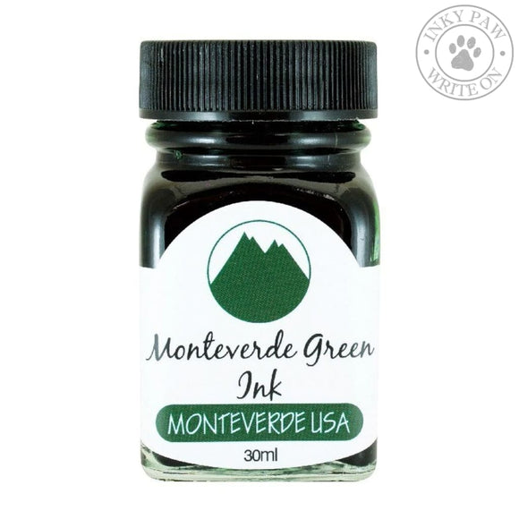 Monteverde 30Ml Ink - Green Inks