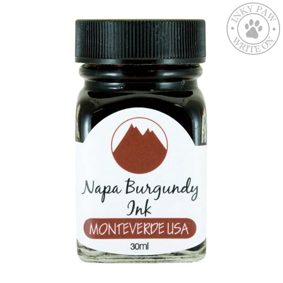 Monteverde 30Ml Ink - Napa Burgundy Inks