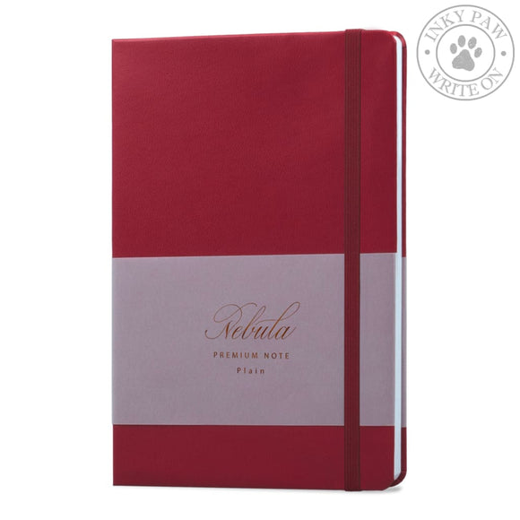 Nebula Note Premium Notebook - Ruby Wine Paper