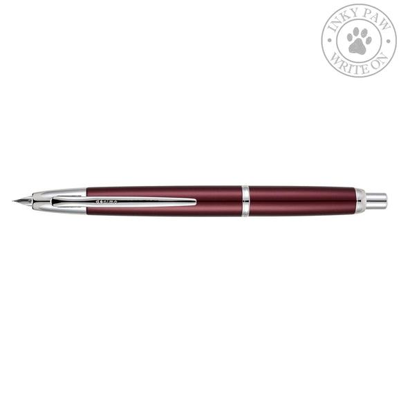 Pilot Capless Decimo Fountain Pen - Red Pens