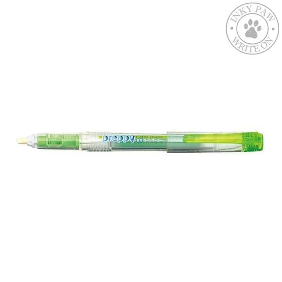 Platinum Preppy Refillable Highlighter - Green Pens