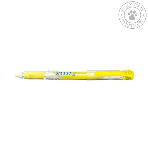 Platinum Preppy Refillable Highlighter - Yellow Pens