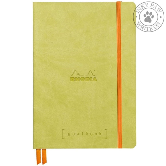 Rhodia Goalbook Bullet Journal/planner - Anise Green
