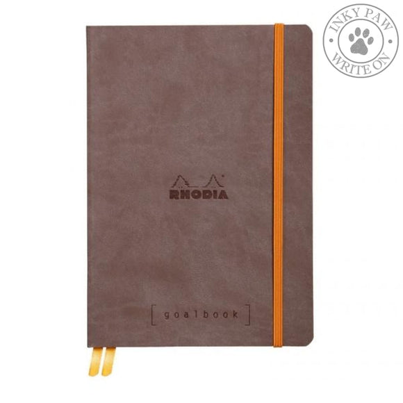 Rhodia Goalbook Bullet Journal/planner - Chocolate Brown