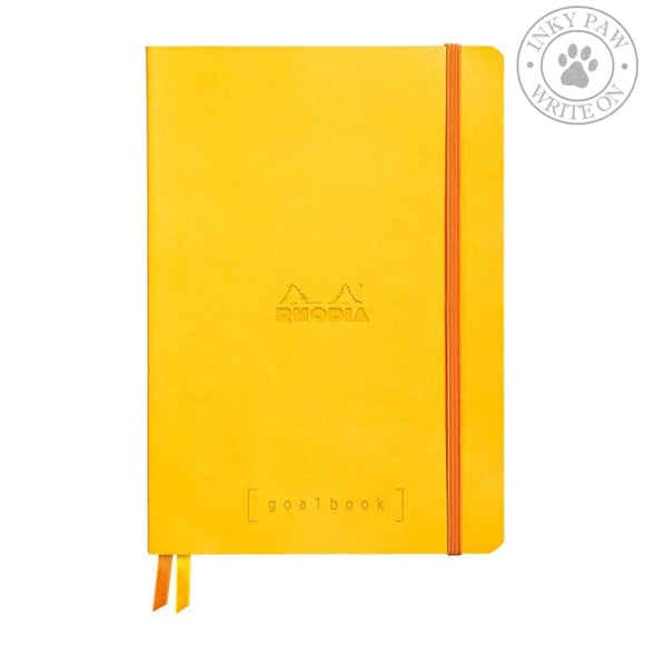 Rhodia Goalbook Bullet Journal/planner - Daffodil Paper