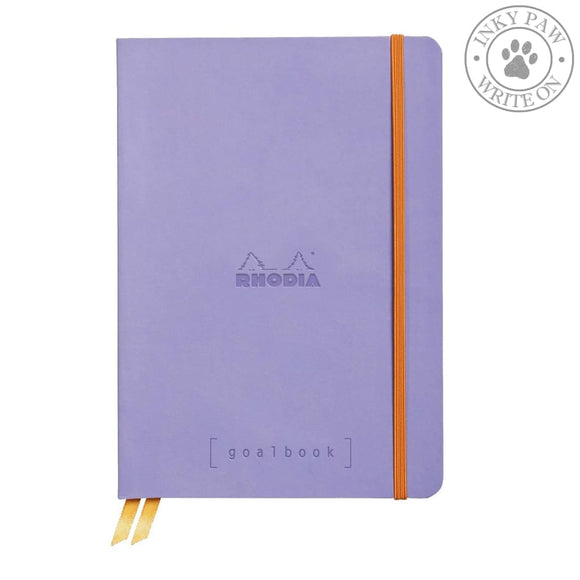 Rhodia Goalbook Bullet Journal/planner - Iris Purple