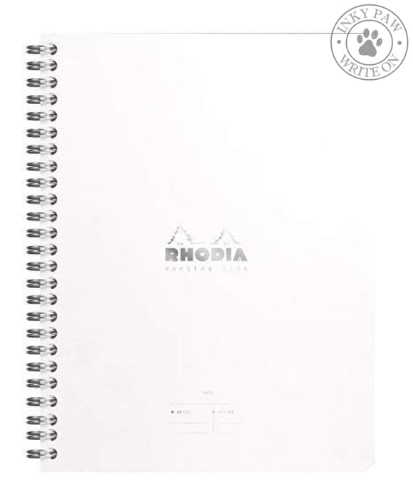 Rhodia Meeting Book - Ice White