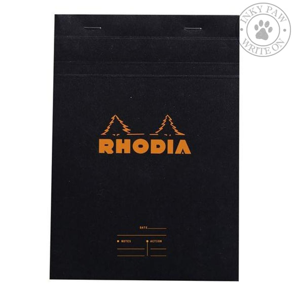 Rhodia Meeting Pad - Black Paper